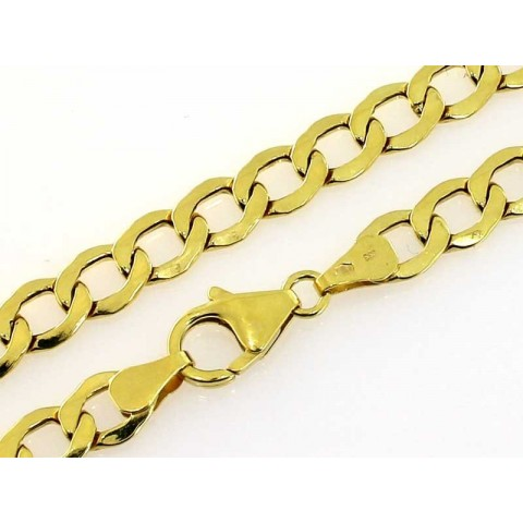 Łańcuszek złoty splot pancerka