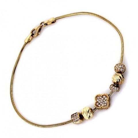 Bransoletka z zawieszkami beads