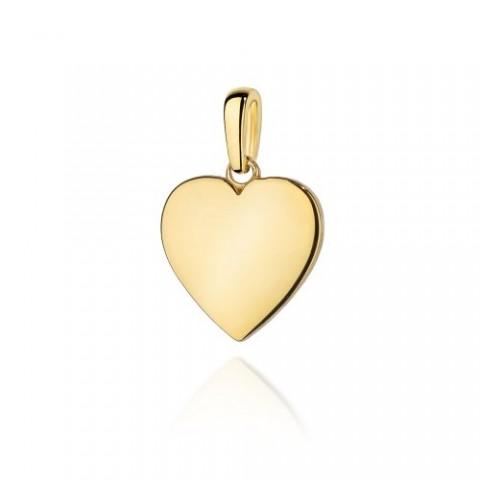 Zawieszka złota serce