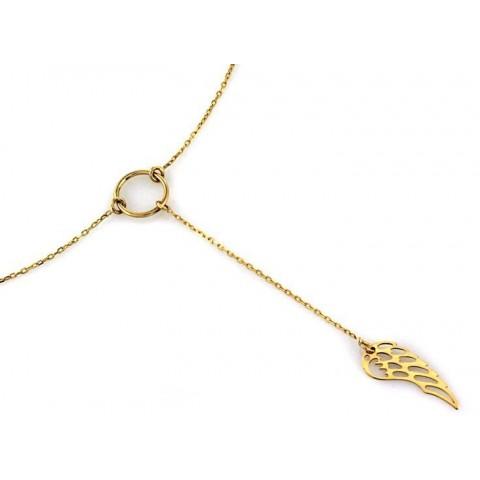 Nszyjnik anielskie skrzydło