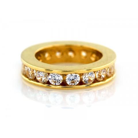 Zawieszka złoty ring