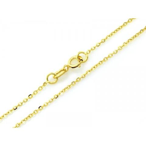 Łańcuszek złoty splot Ankier