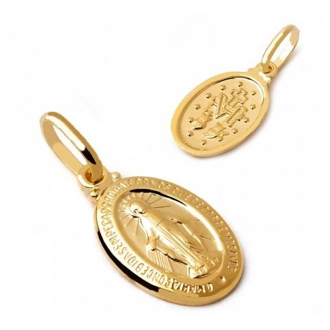 Medalik Matka Boska Niepokalana
