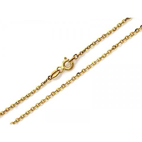 Łańcuszek złoty splot valentino