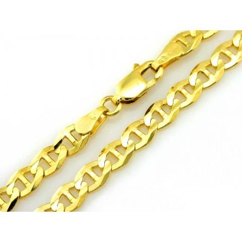 Złoty łańcuch męski splot Gucci MARINA
