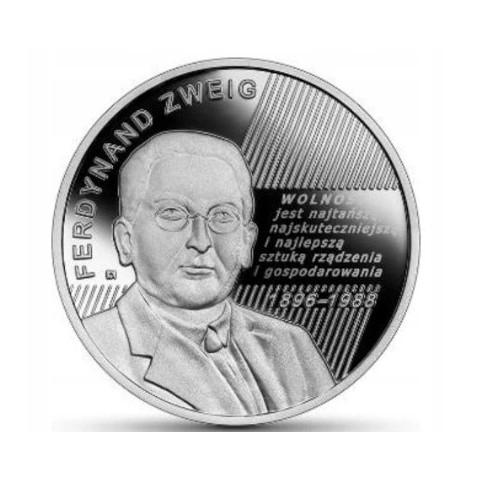 Ferdynand Zweig-Wielcy Polscy Ekonomiści 2021