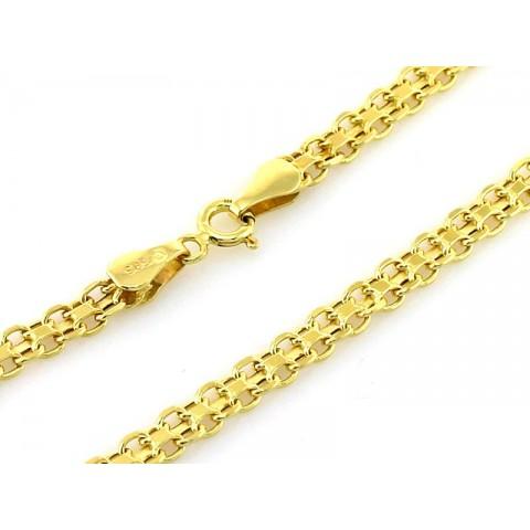 Łańcuszek złoty BISMARK