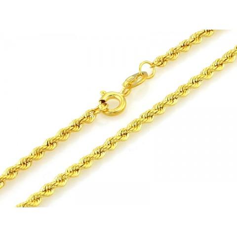 Łańcuszek złoty splot KORDA