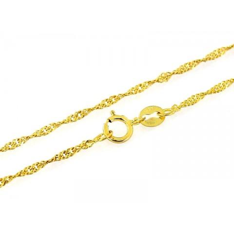 Łańcuszek złoty splot SINGAPUR