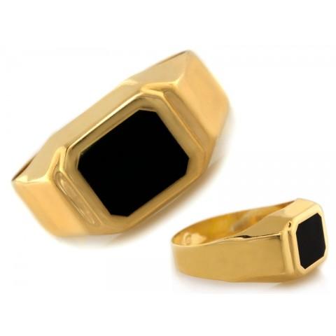 Sygnet złoty dla eleganckiego mężczyzny